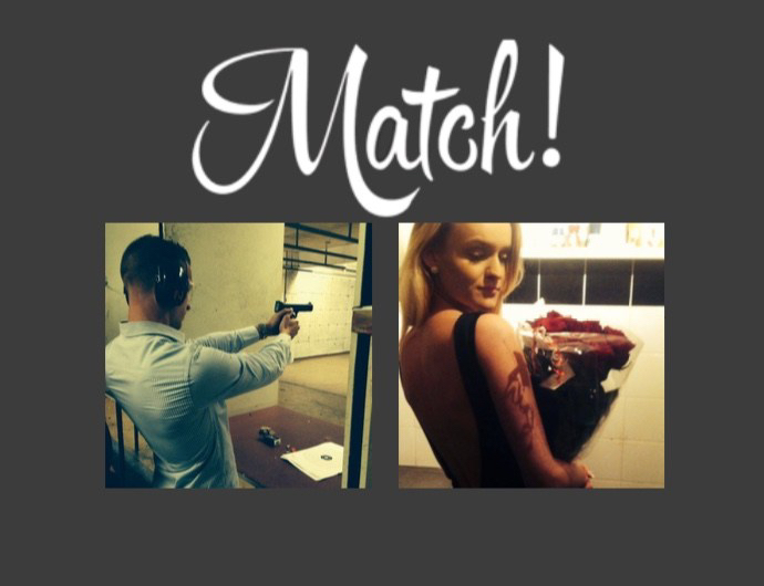 TINDER LOVE – Love at first swipe!